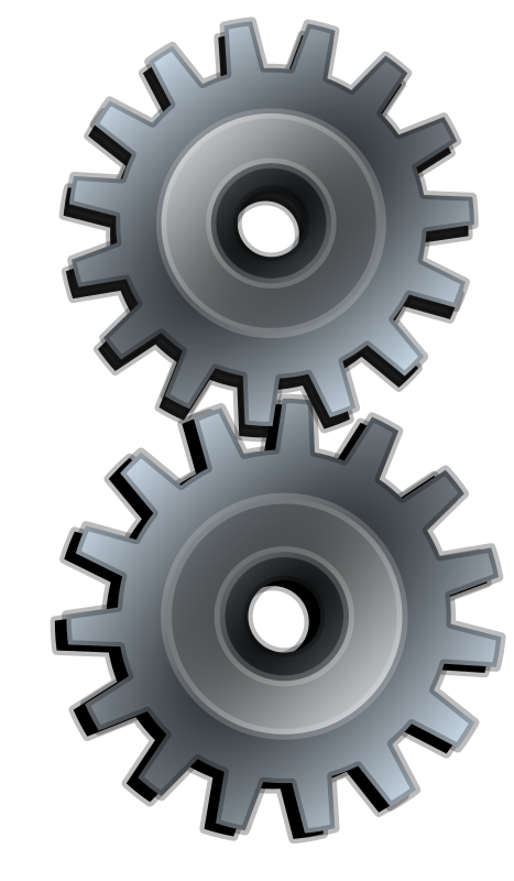 Two Gears Gray