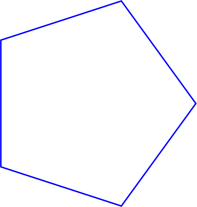 Regular Pentagon very simple
