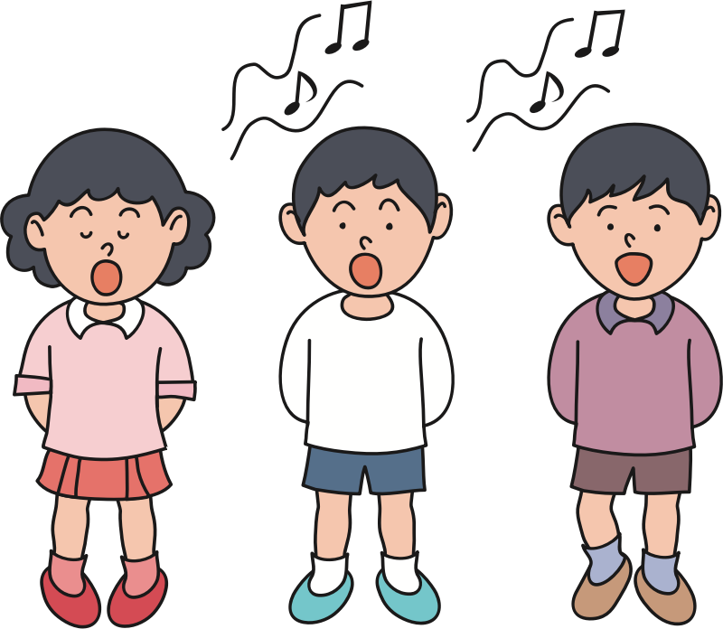 Children Singing (#1)