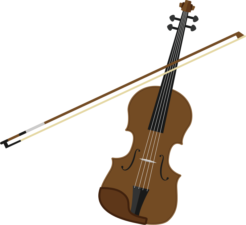 Violin and bow (#3)