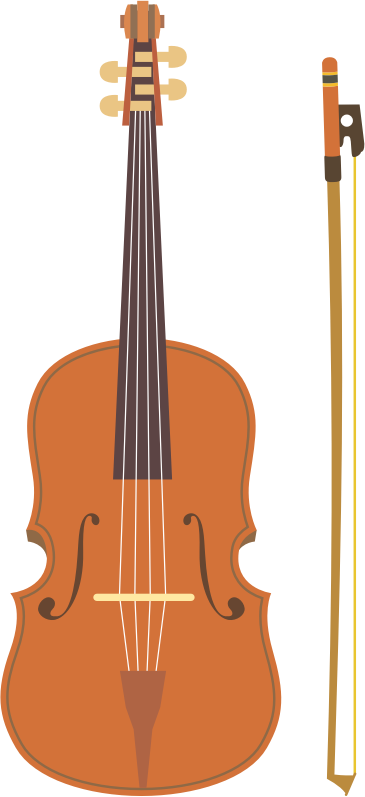 Violin and bow (#4)