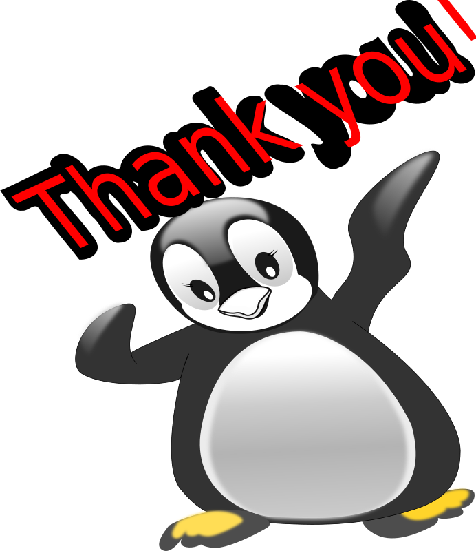 thank you penguin
