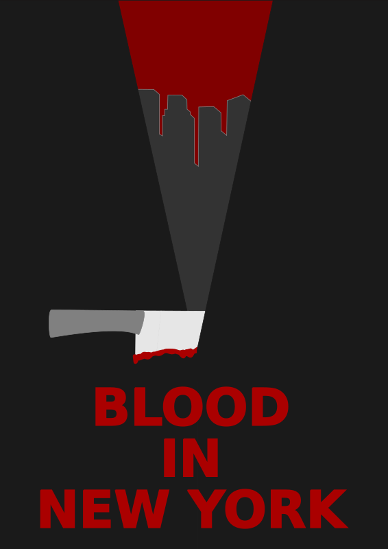 BLOOD IN NEW YORK