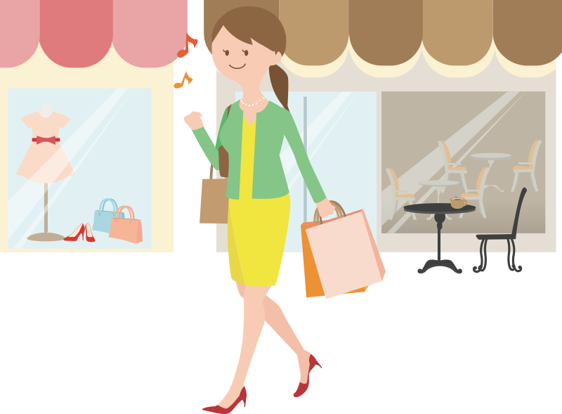 Female Shopper (#1)