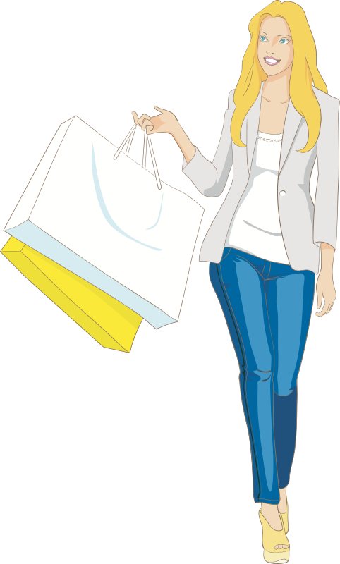 Female Shopper (#3)