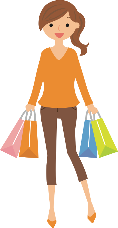 Female Shopper (#5)