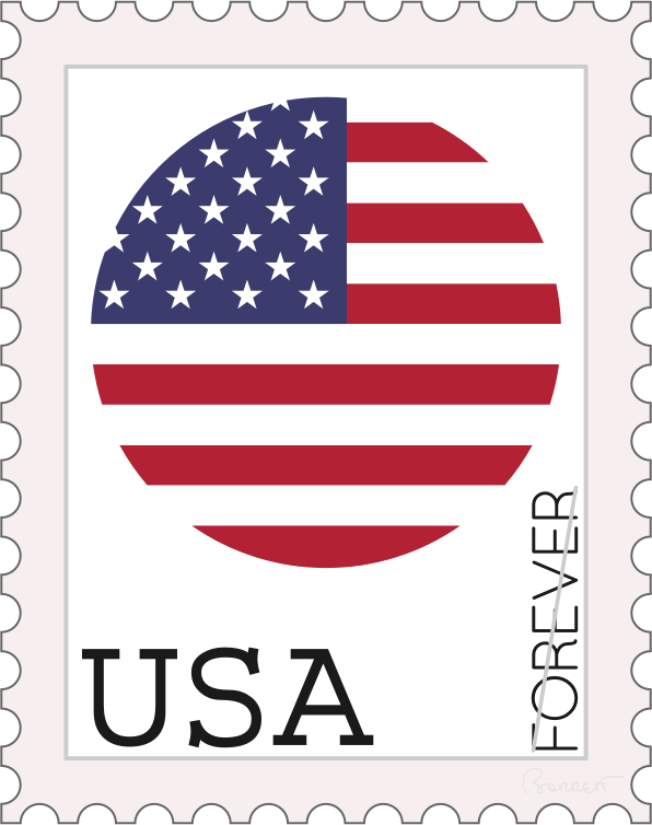 USA Forever Stamp Concept