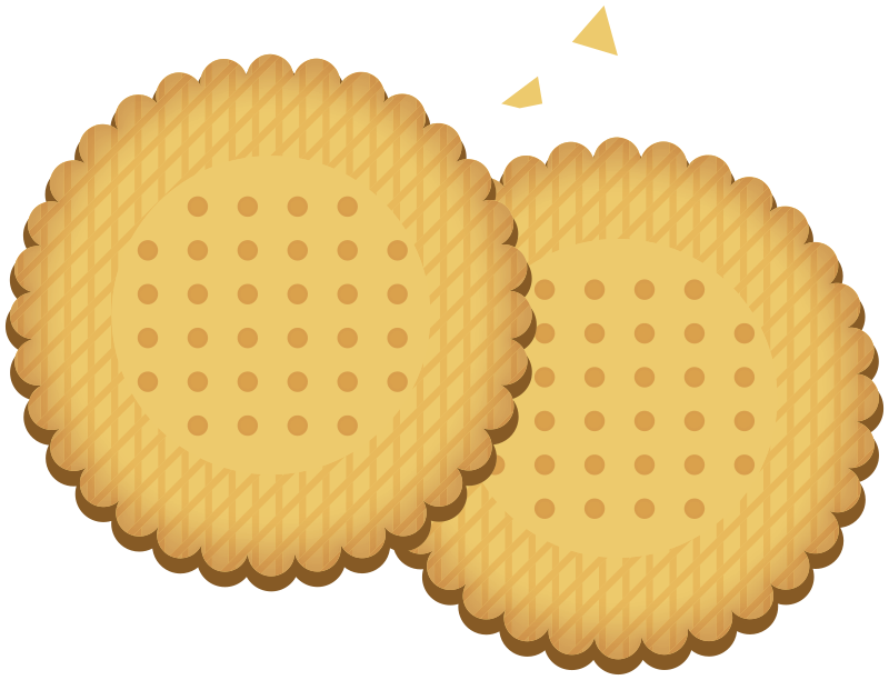 round cookie / biscuit