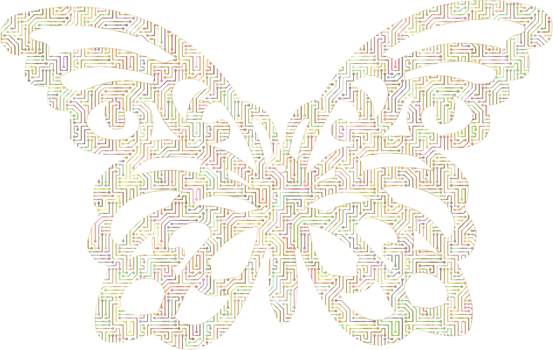 Cyber Butterfly No Background