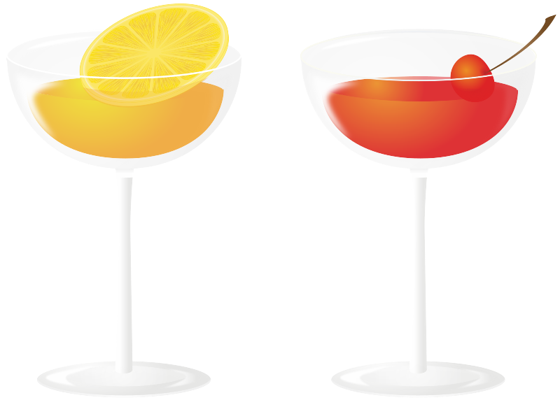Cocktail drinks
