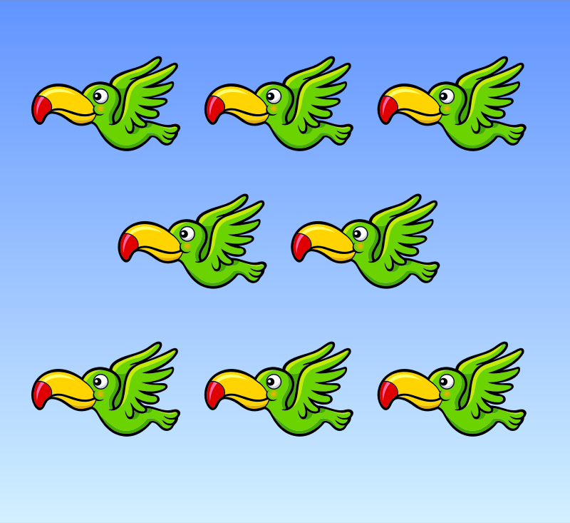 Flying Birds Animation