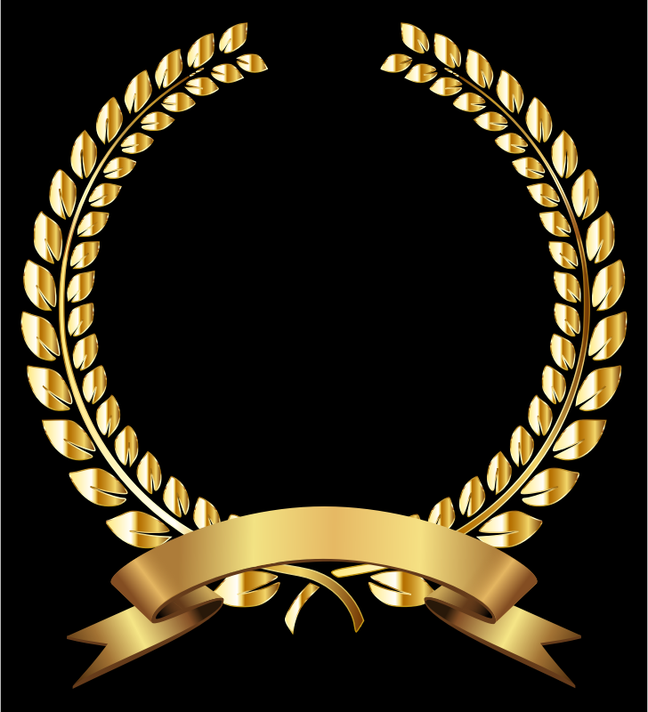 Golden Laurel Wreath Remixed
