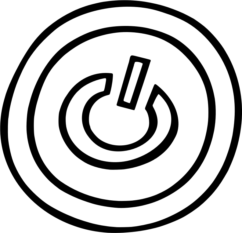 Simple on/off button