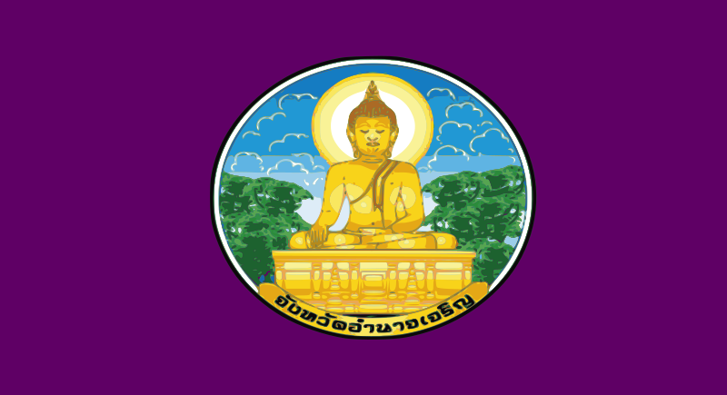 Flag of Amnat Charoen