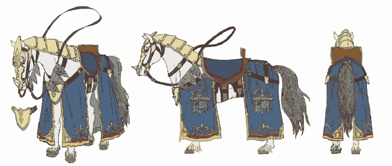 Horse 4 (Battle Ready)