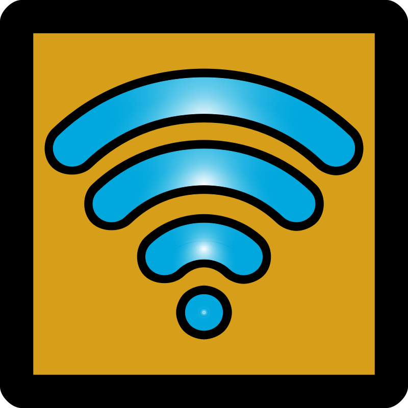 WiFi Enabled Icon [Umber]