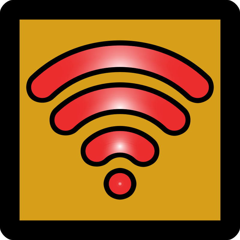 WiFi Disabled Icon [Umber]