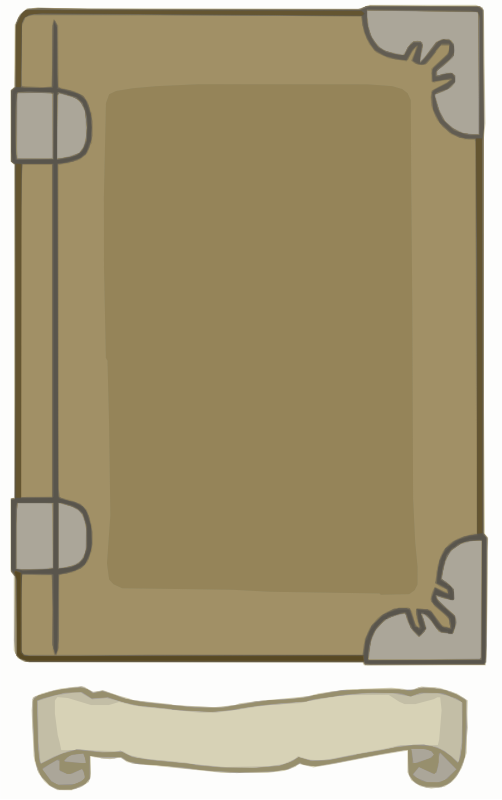 Light Brown Book template