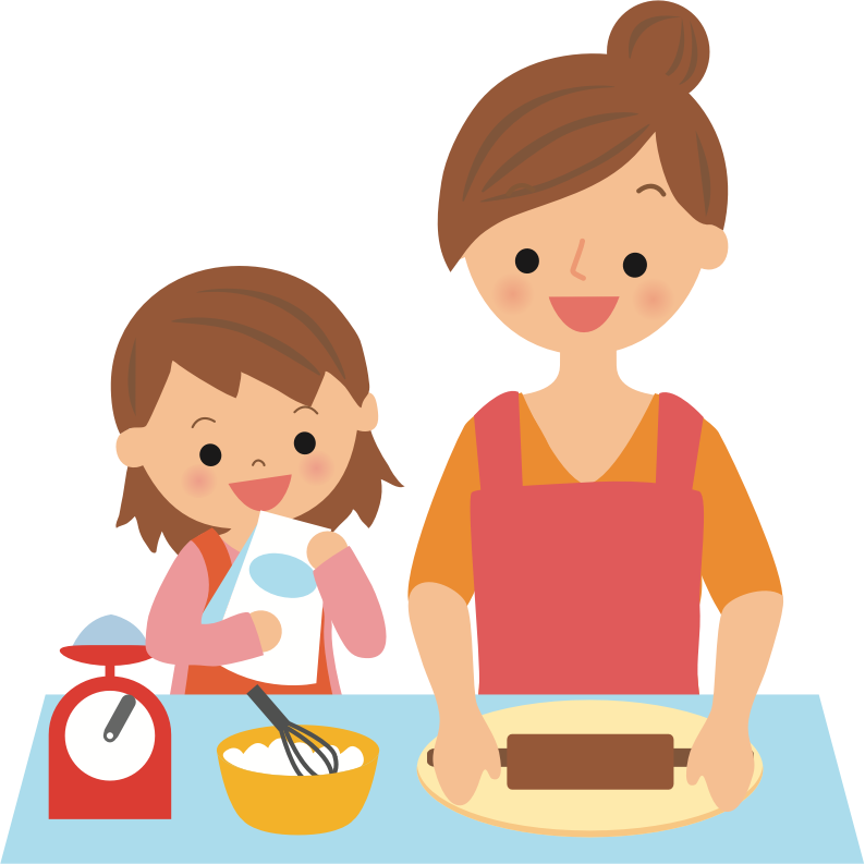 Baking with Mother
