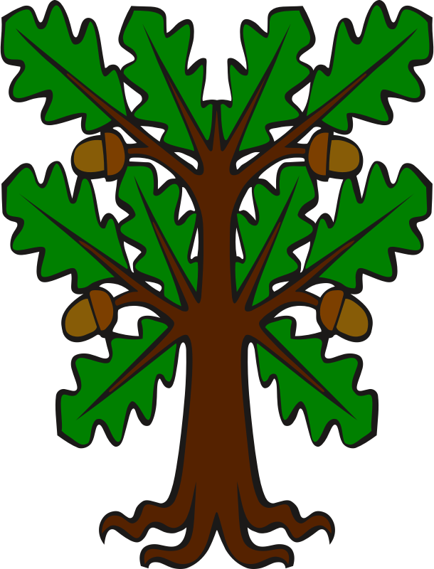 Stylised oak