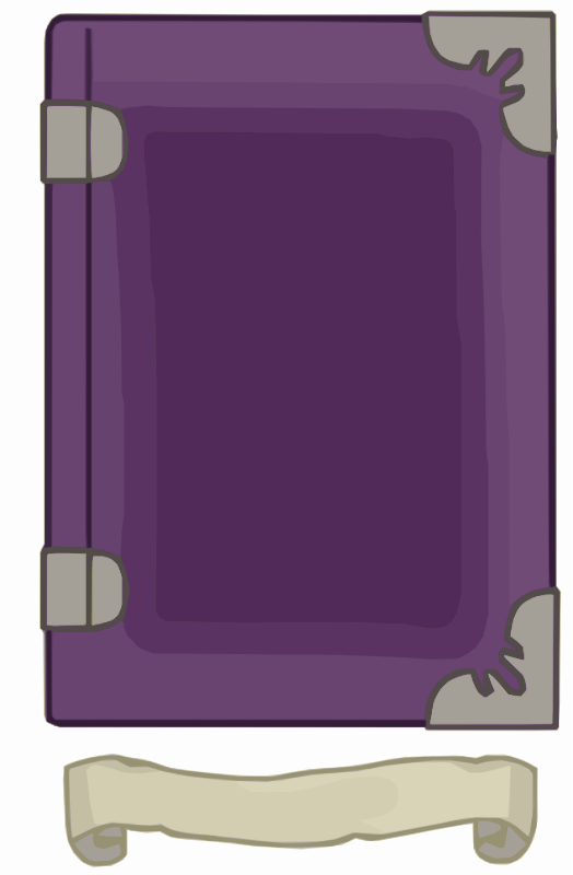 Purple Book Template