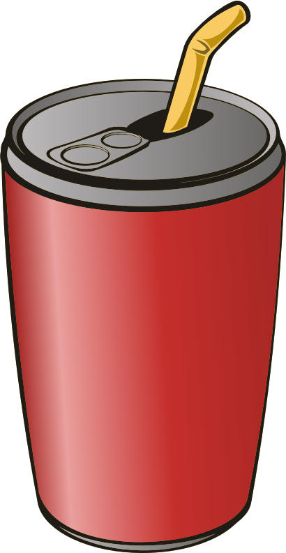 Can of drink