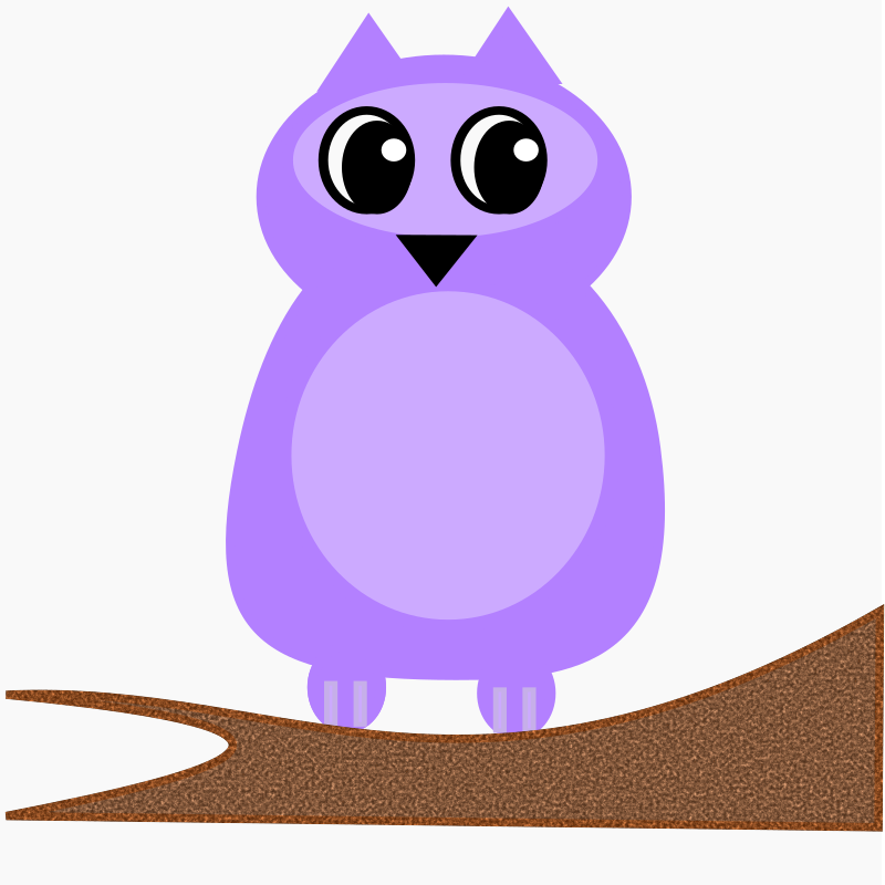 A Purple Owl