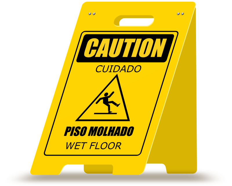 Wet Floor A-Frame