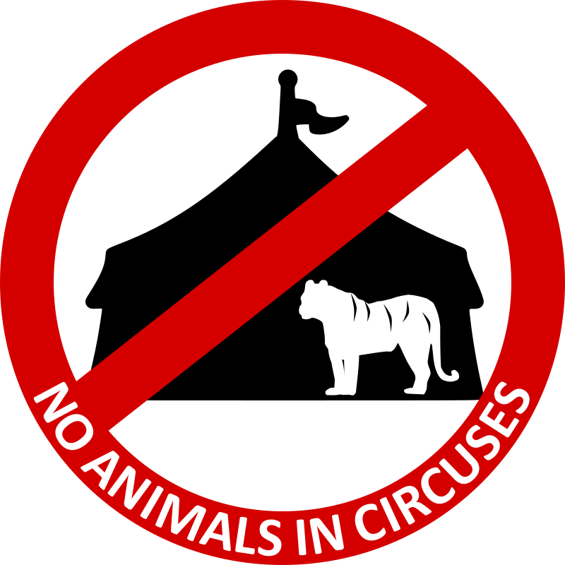 No Animals in circuses 2