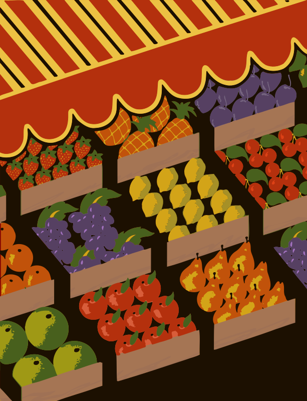 Fruit Display - Colour Fix