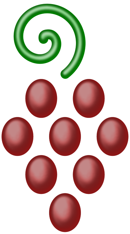 Bunch of grapes (version 2)