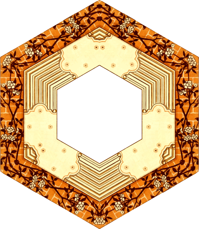 Hexagonal frame 4