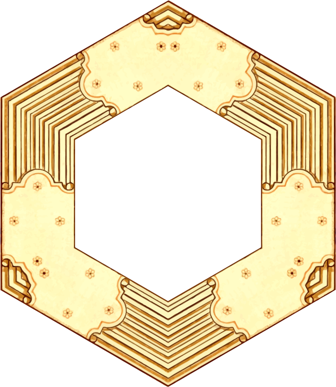 Hexagonal frame 4 (version 2)