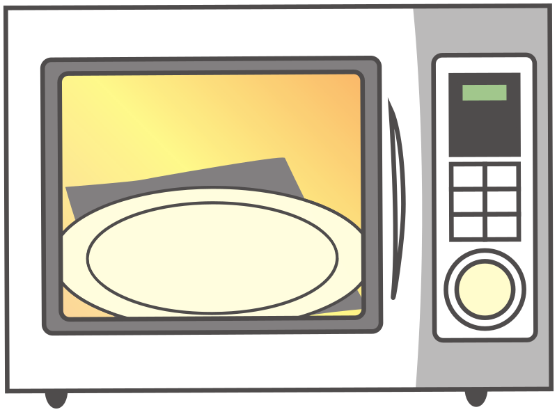 Simple Empty Microwave