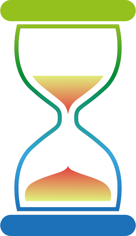 Colourful hourglass 2
