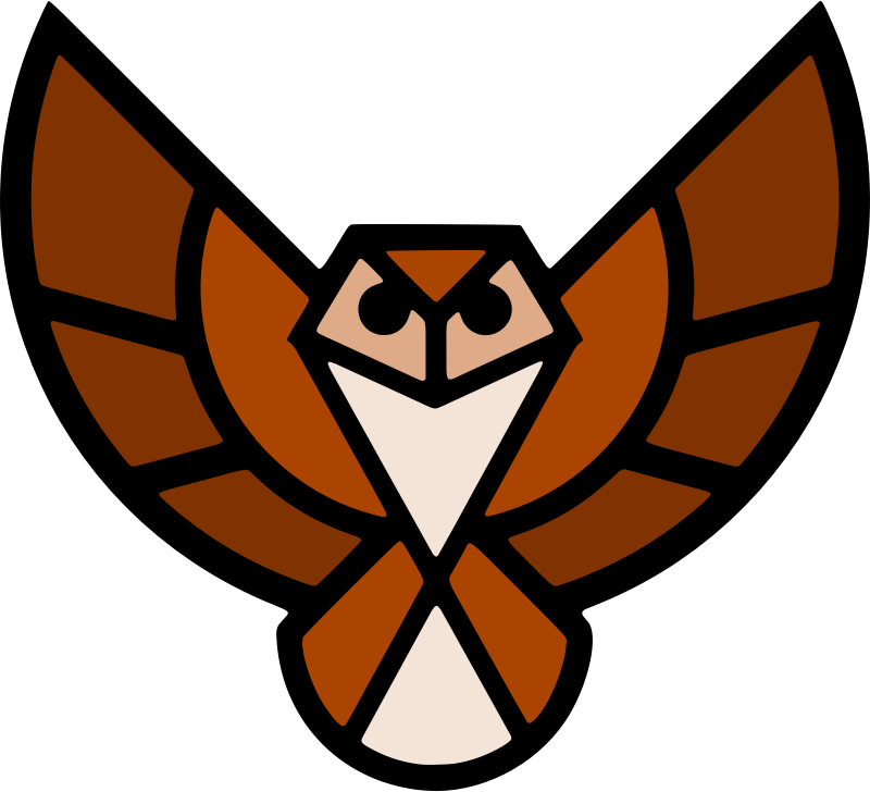 Stylised owl 2 (colour)
