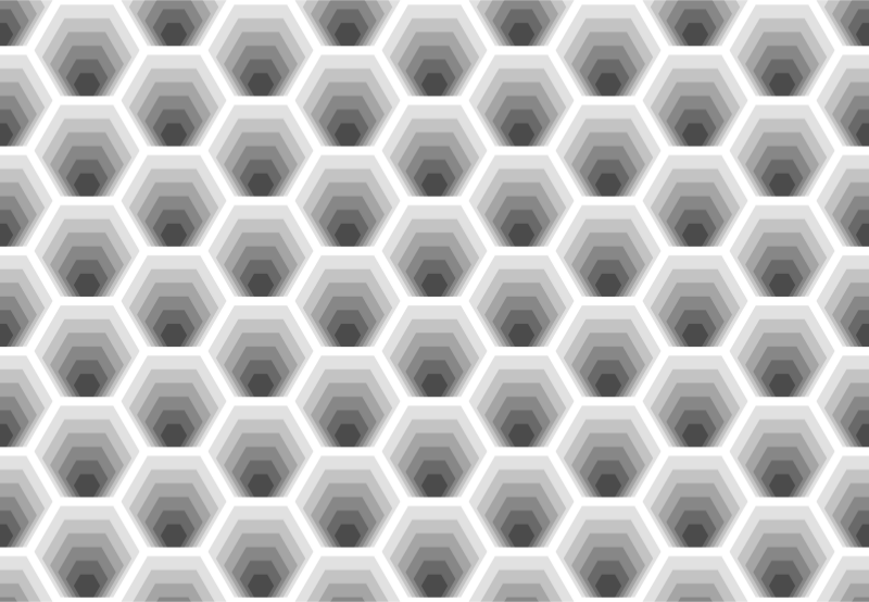 Hexagonal pattern 2