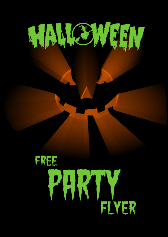 Halloweenn Party Flyer1