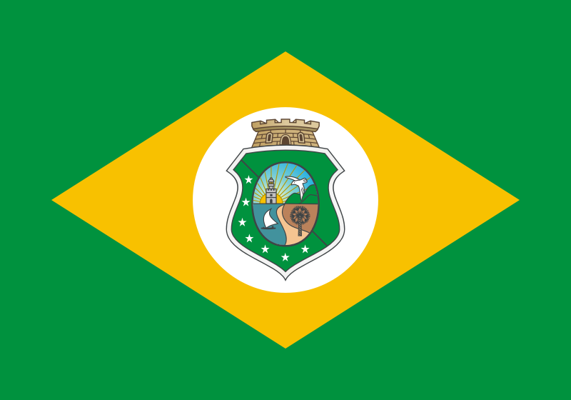 Flag of the State of Ceará (BR)
