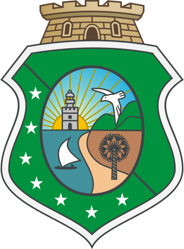 Blazon of the State of Ceará (BR)