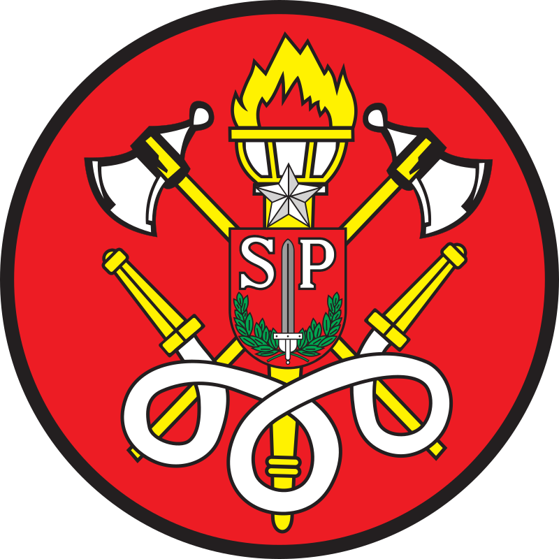 Blazon of Fire Department of São Paulo