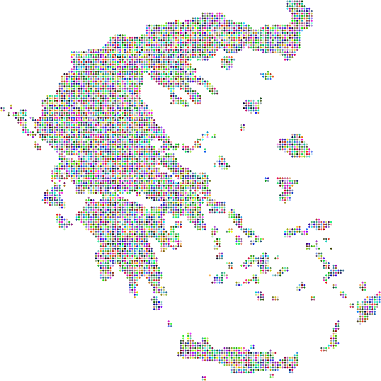 Greece Dots Prismatic