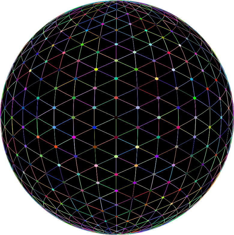 Network Sphere Prismatic