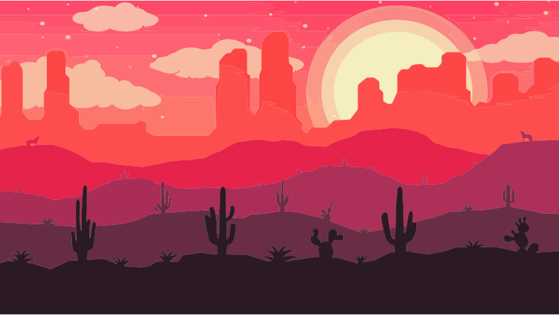 Digital Landscape Illustration 7