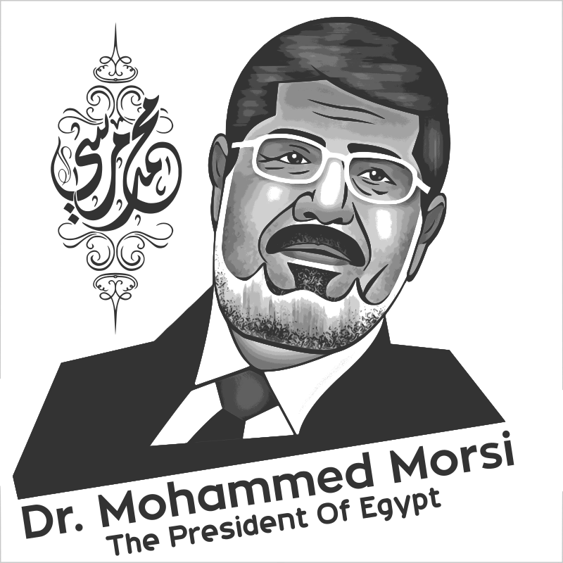 President Of Egypt, B&W