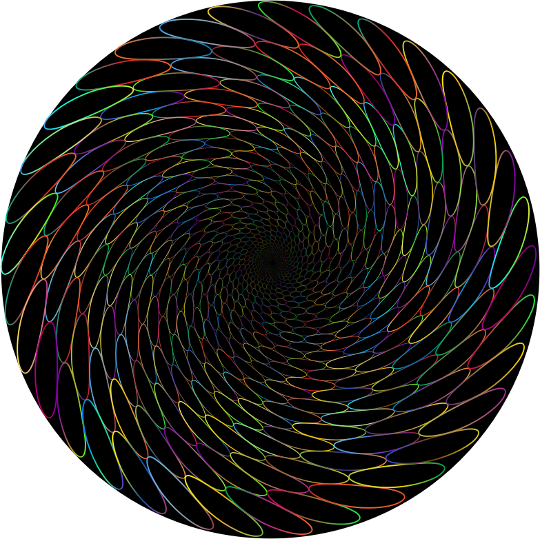 Chromatic Caustics Whirlpool
