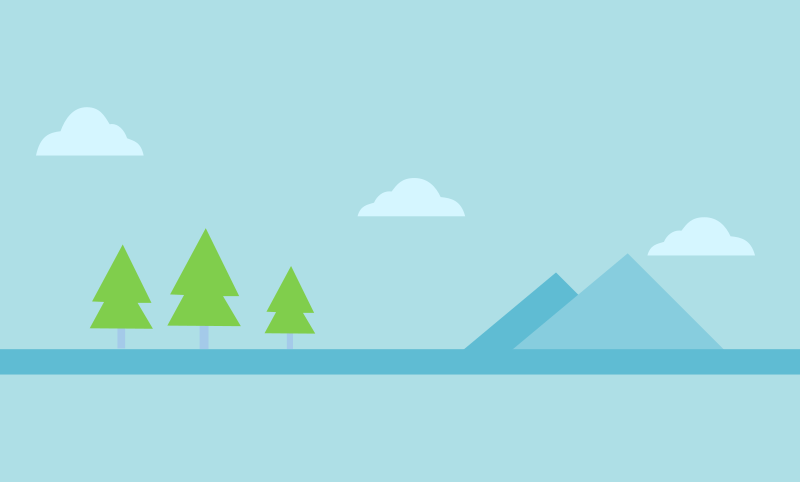 Simple Nature Banner