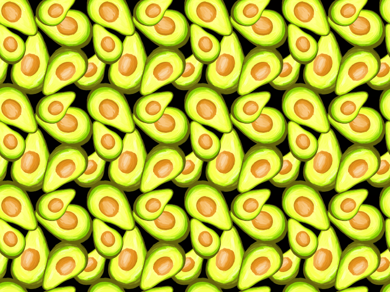 Avocado background