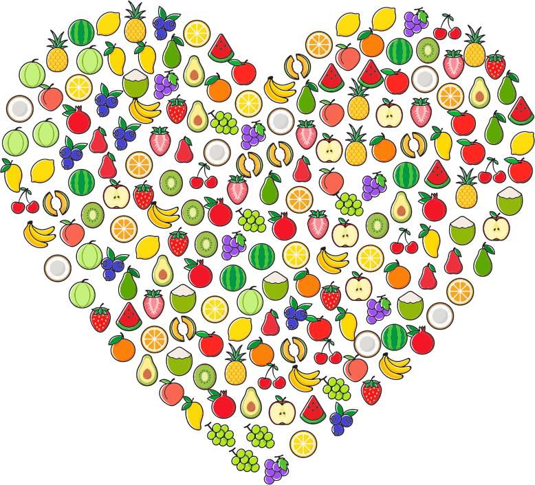 Fruit Icons Heart