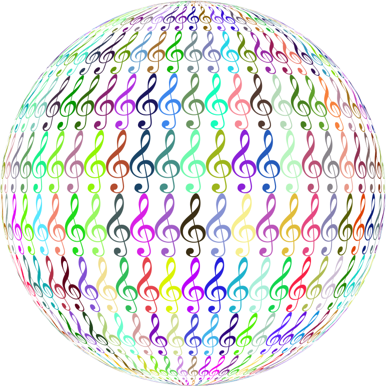 Clef Sphere Prismatic